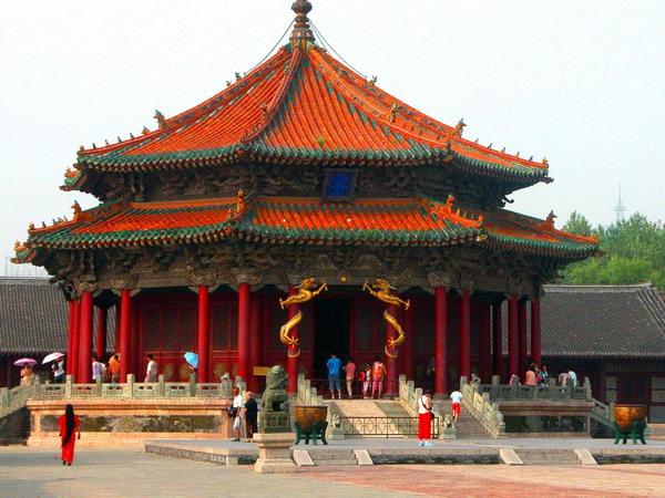沈阳故宫博物馆图片